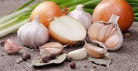 Что можно выбрать для подкормки лука и чеснока