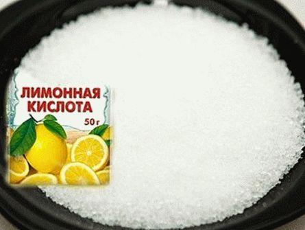 фото лимонной кислоты