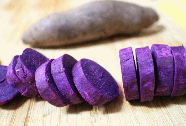 фиолетовый батат