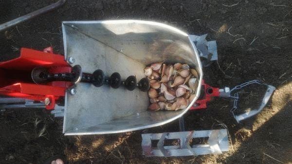 Сажалка чеснока – самодельная сеялка ручная, приспособление для посадки лука своими руками