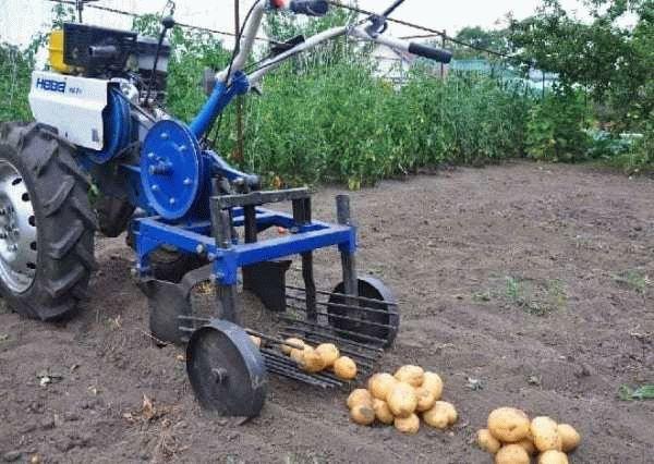 Вибрационная картофелекопалка