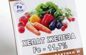 Сферы применения хелата железа как удобрения