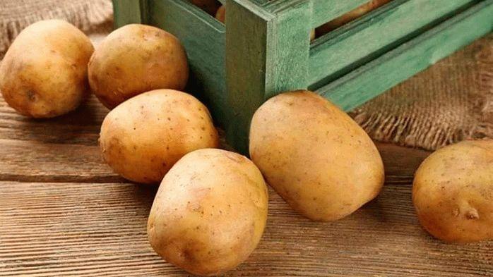 Картофель с тонкой кожурой
