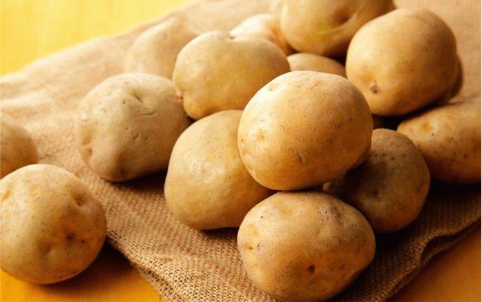 Клубни картофеля Лилея