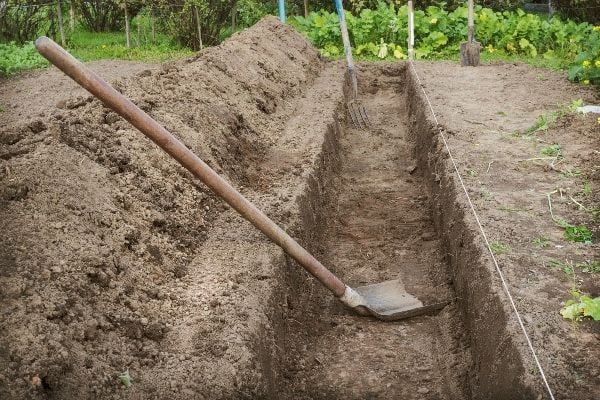 Лопата для посадки картофеля