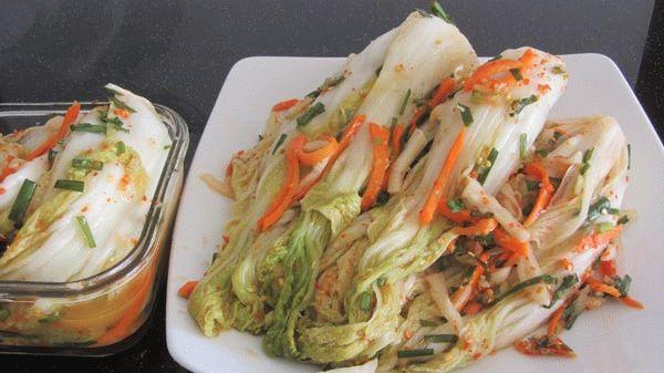 Соления из пекинской капусты