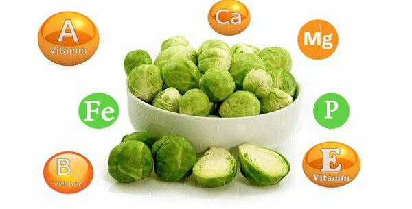 витамины в брюссельской капусте