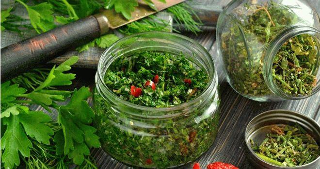 Как хранить зелень петрушки на зиму