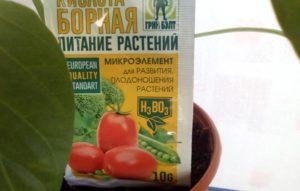 Как использовать борную кислоту для томатов