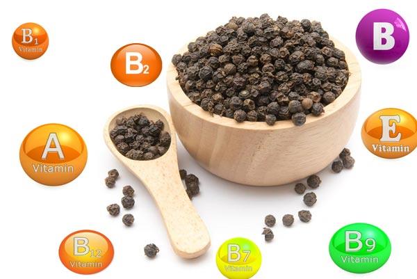 витамины в черном перце