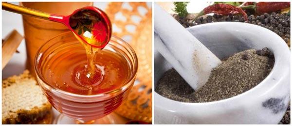 перец и мед