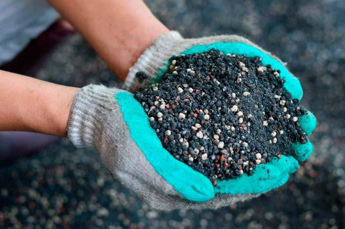 удобрения в почве