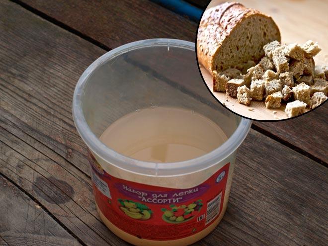 удобрение из хлеба
