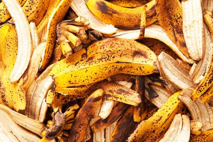 корки банана
